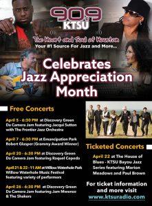 KTSU Celebtrates Jazz Appreciation Month