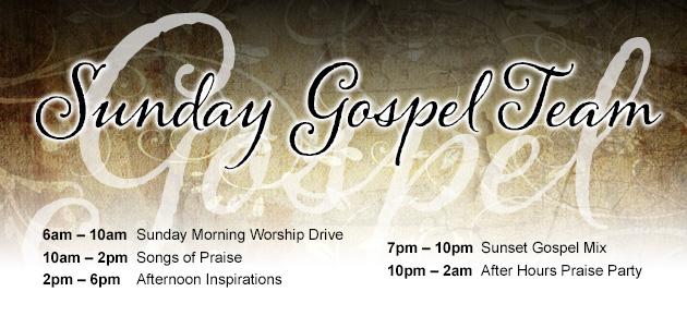 Sunday Gospel Team KTSU Radio 90.9 FM