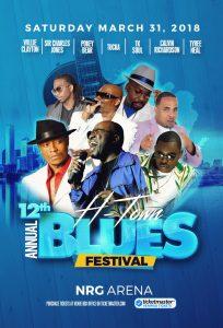 12th Annual Blues Festival NRG Arena