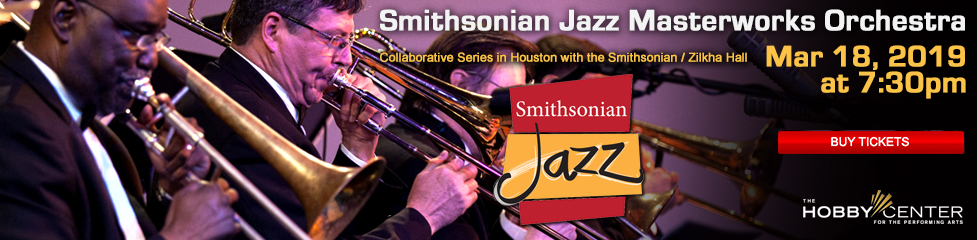 Smithsonian Jazz Masterworks Orchestra at the Hobby Center