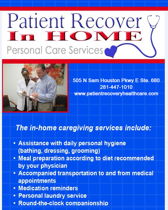 Patient Recover In Home Services