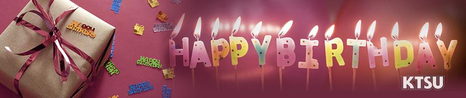 KTSU Birthday Donation
