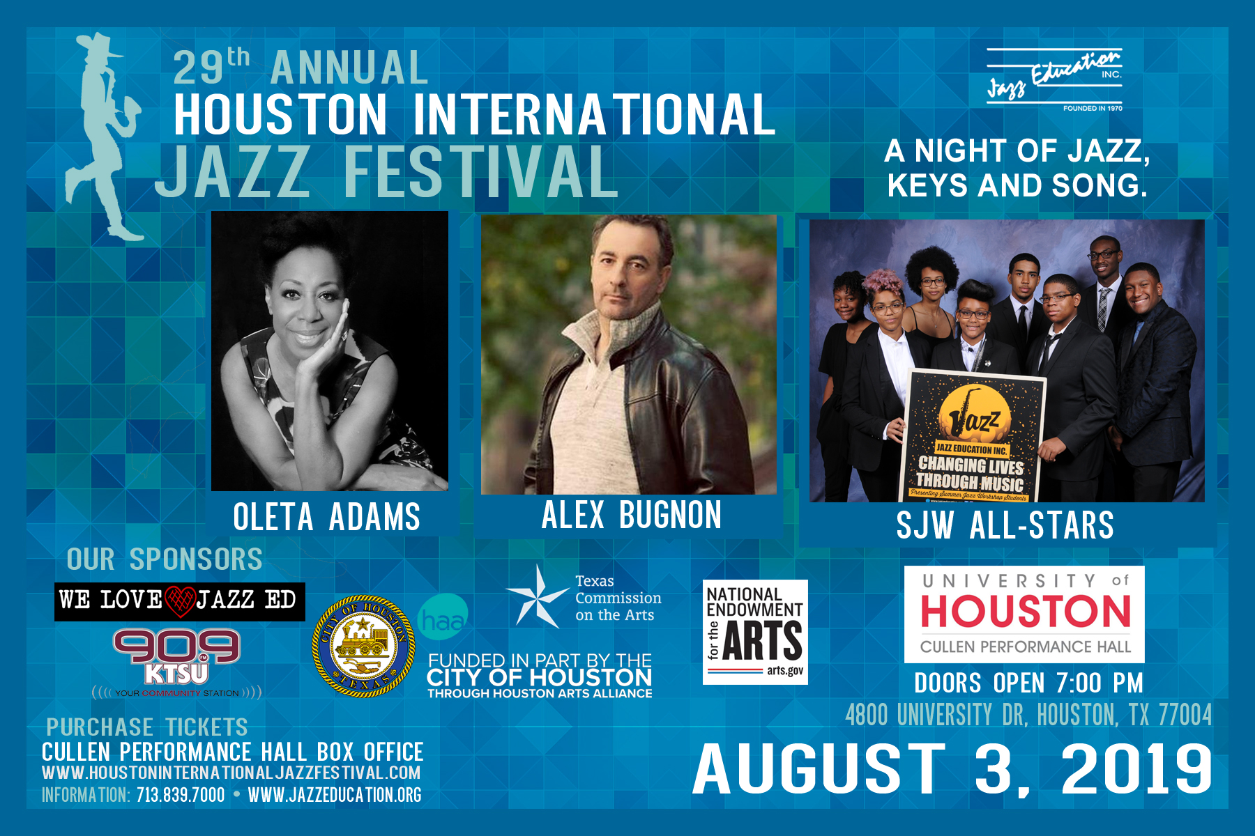 29th Houston International Jazz Festival