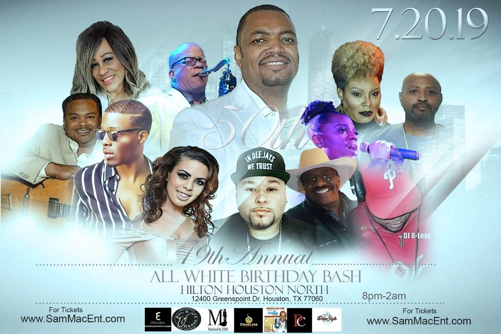 Sam Mac Ent. 19th Annual All White Birthday Bash