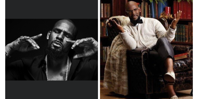 Photos obtained from official Facebook page of R. Kelly